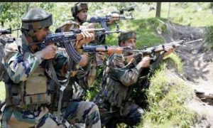 Two militant heaps in encounter with security forces