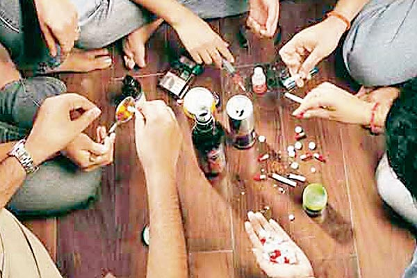 Young generation wasted in addiction