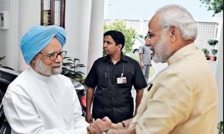 Rahul and Modi greeted Manmohan on birthday