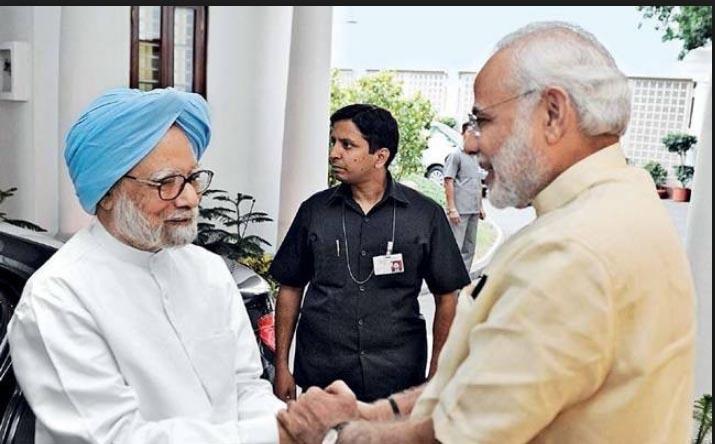 Rahul and Modi greeted Manmohan on birthday