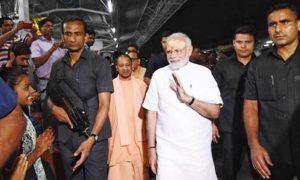 Modi, Surprised, Railway, Station, Varanasi