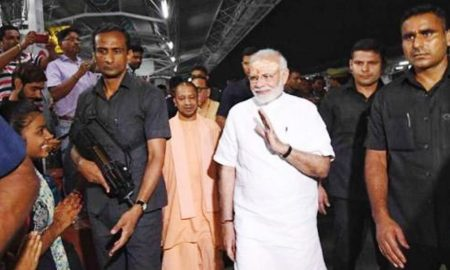 Modi, Surprised, Railway, Station, Varanasi