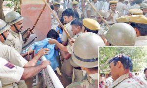 Rehari, Union, Protesters, Clash, Police, Suratgarh, ASI Injured