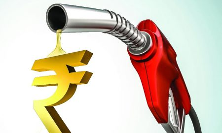 prices of petrol and diesel increased and rupee dropped