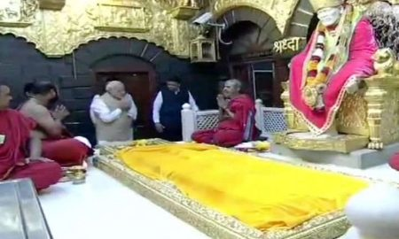100 Years Of Sai Samadhi: Modi Gave Baba An Aarti, Issued A Silver Coin Of His Name