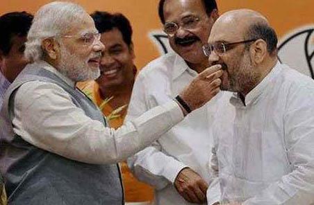 Narendra Modi, Congratulates, Amit Shah, Birthday
