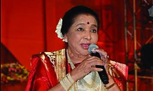 Asha Bhosle, Entertainment