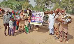 Distribution Of 992 Pairs Of Clothes To The Needy Families Of Ten Villages