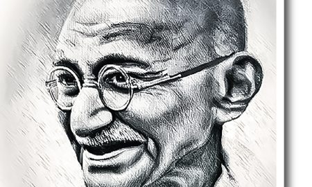 From A New Perspective In The Modern Era, Gandhi