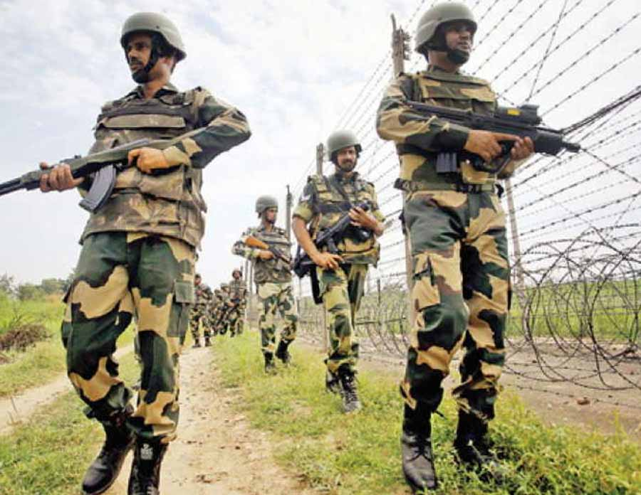 Kashmir: Security Forces In Kulgam
