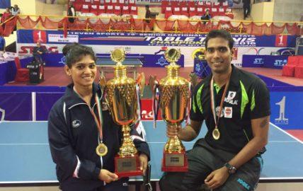 Madhurika Patkar & Sharath Kamal