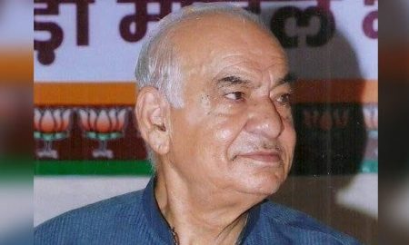 Nitish condoles the demise of former Chief Minister Madan Lal Khurana