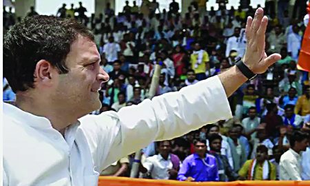 Rahul gandhi, Two, Day, Madhya, Pradesh, Tour, Today