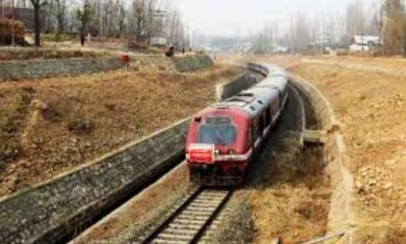 Rail service suspended for fourth consecutive day in Kashmir Valley