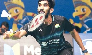 Srikanth Defeats Dan After Four Years