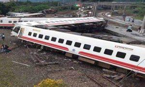 Taiwan Train, Derailment, Accident