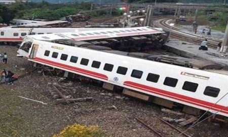 Taiwan Train, Derailment, Accident