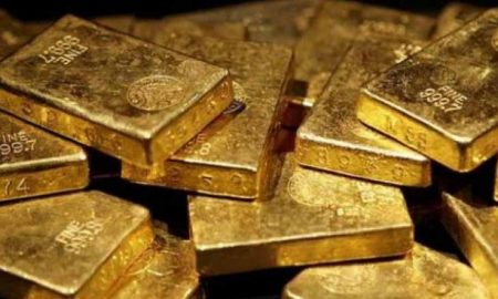 Two accused arrested with gold biscuits of two crores on remand