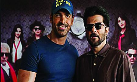 Anil Kapoor, Crazy, With, John Abraham
