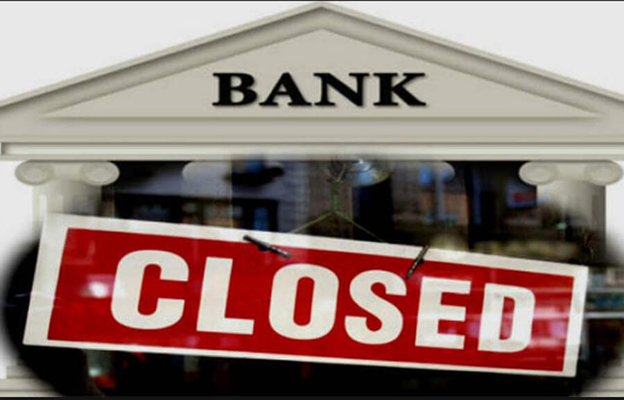 Bank, Closed, Five, Days