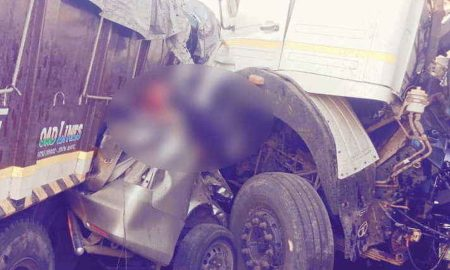 Gujarat: Car Middle Of Collision Two Trucks, 10 People Killed Same Family