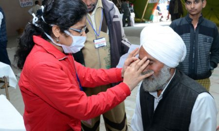 Free Eye Camp: 54 people gets new vision