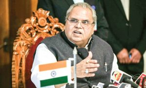 Jammu and Kashmir Governor Satyapal Malik