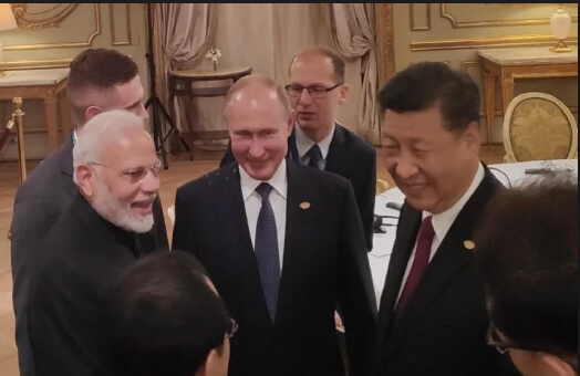 India Russia China