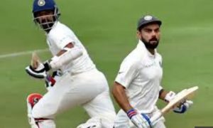 India's solid response from the half-century of Virat-Rahane