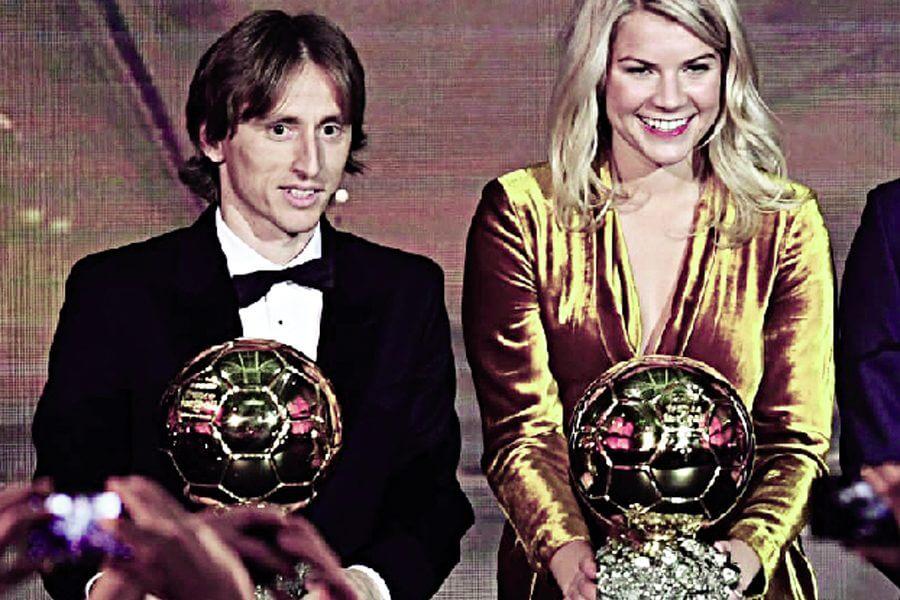 Neither Messi Nor Ronaldo Moderrich Took The Ballen D'Or