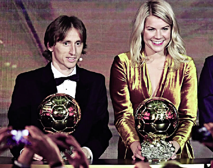 Neither Messi Nor Ronaldo Moderrich Took The Ballen D'Or