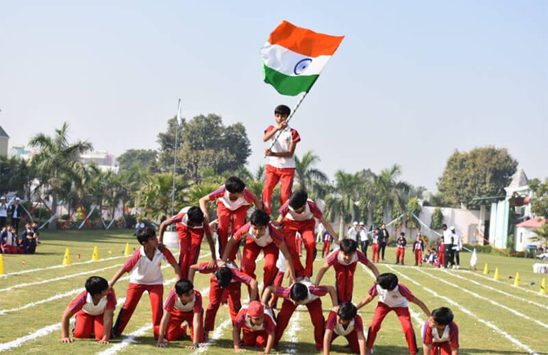 Organized annual sports festival at St. MSG Glorious International School