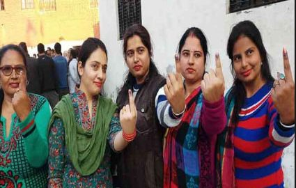 Haryana: Over 60 percent voting in municipal elections