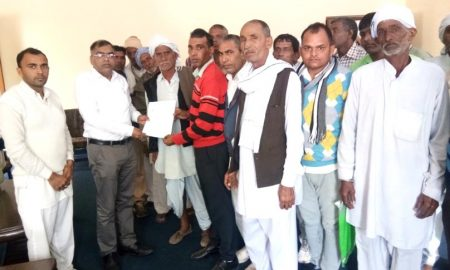 People from Bhatla met the National Scheduled Castes Commission