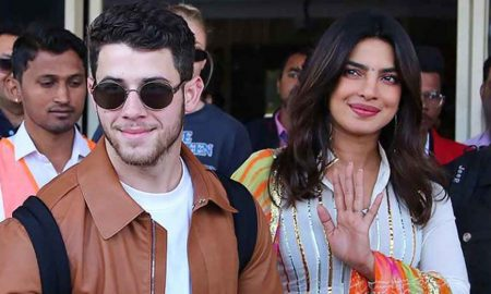 Priyanka Chopra Returns To Mumbai After Marrying In Jodhpur
