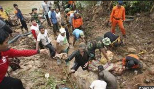 Severe Landslide