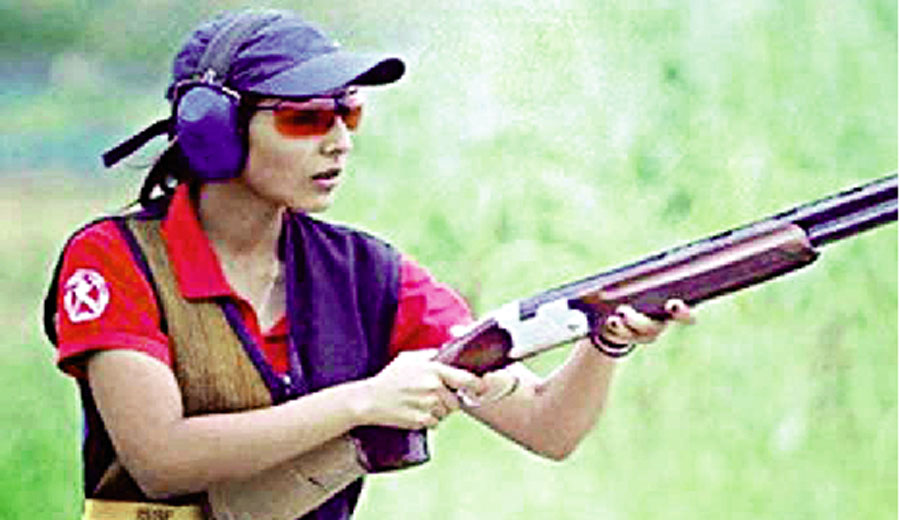 Shooter Maheshwari Chauhan Saved National Titles In Women's Skeet