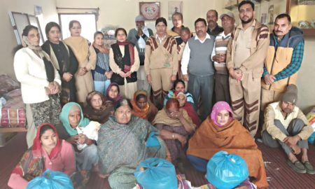 for 15 months distributed to the needy families