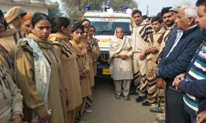 Body Donation By DSS Volunteer