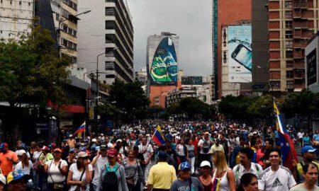 Venezuelan Protest