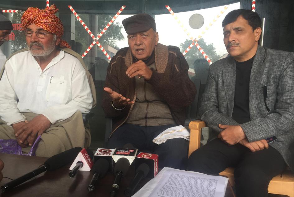 Jat leader Hawa Singh Sangwan