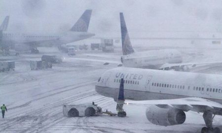 Air services stop after heavy snowfall in Srinagar