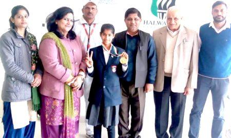 Bhiwani's Ishika wrested at national-level level in Hockey