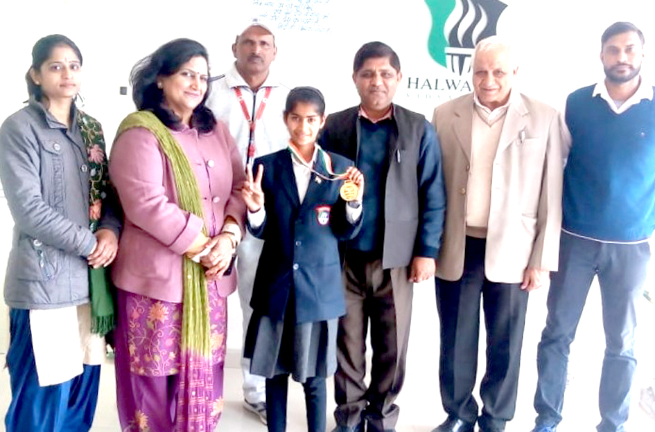 Bhiwani's Ishika wrested at national-level level in Hockey