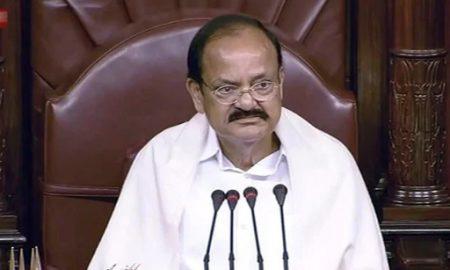 Chairman M Venkaiah Naidu