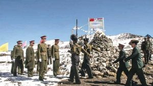 Chinese Soldiers Attacked