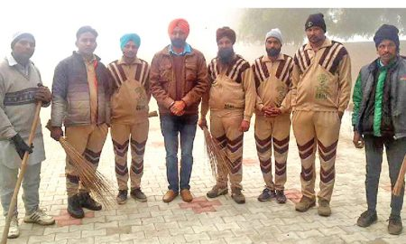 Dera Devotees Celebrate Cleanliness Campaign
