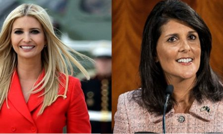 Ivanka Trump, Nikki Haley