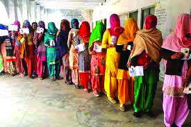 Jind bye elections: 75 percent voting