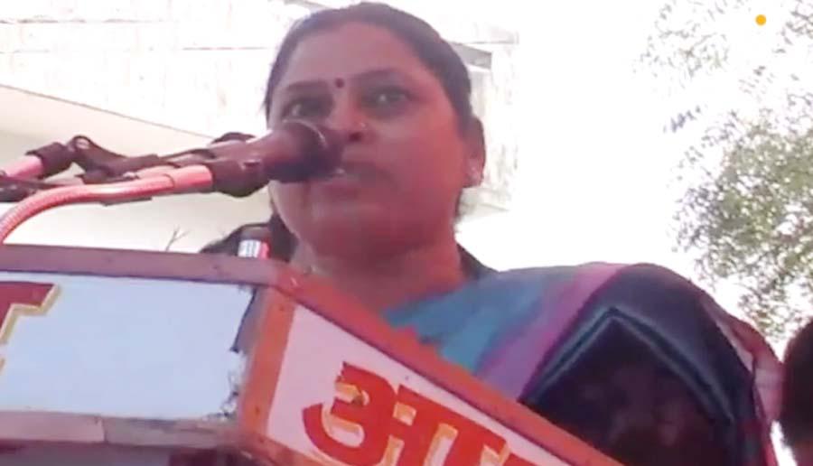 MLA Sadhna Singh Said Mayawati Neither Male Nor In Women